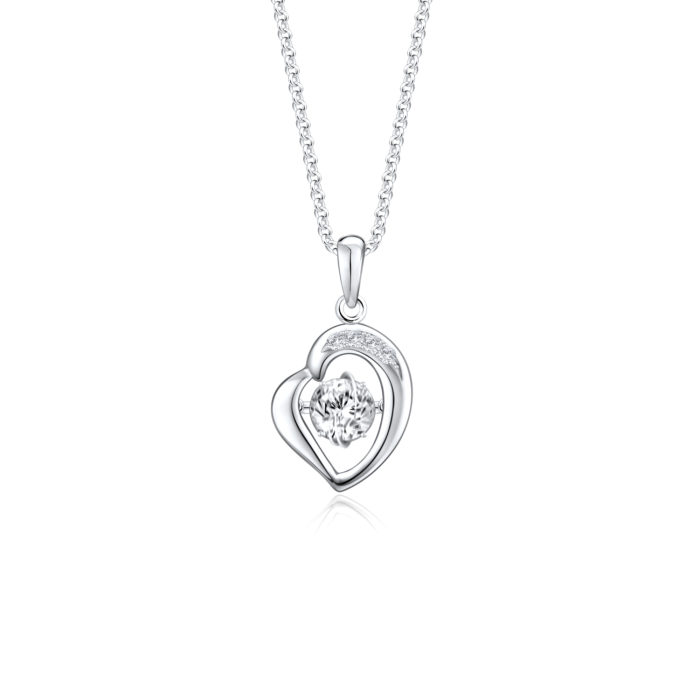 Captivate My Heart Diamond Pendant