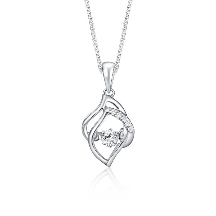 Odette Diamond Pendant