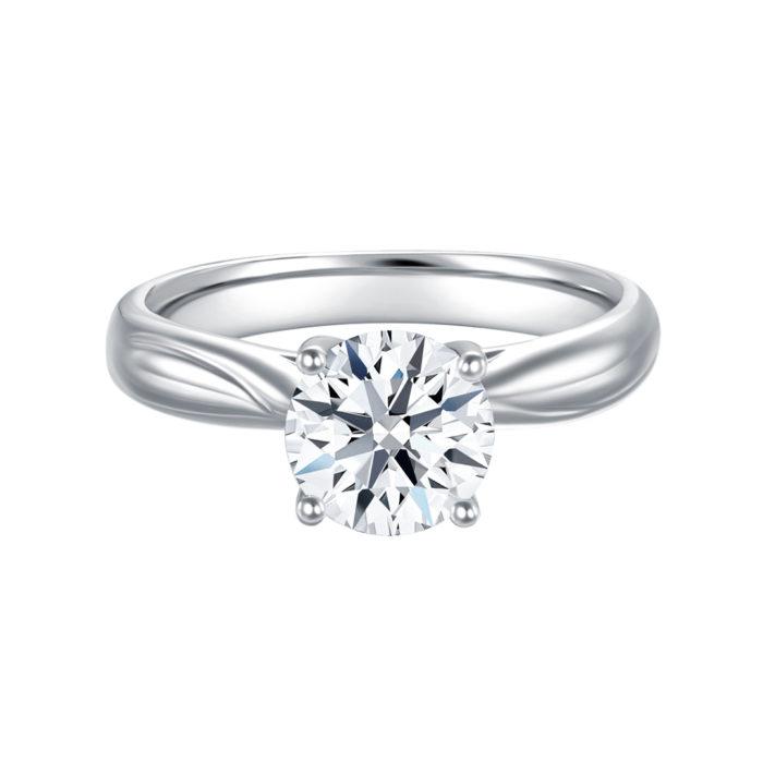Classic Love Diamond Ring