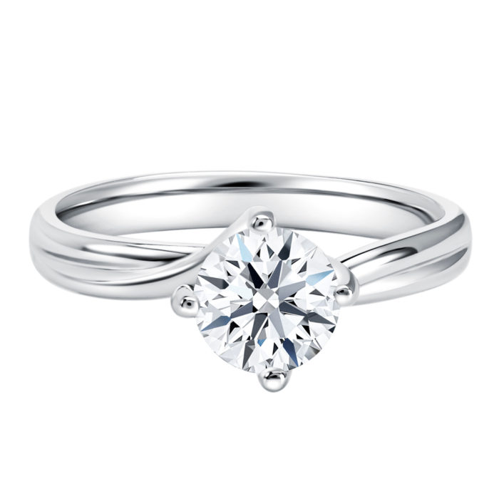 Classic Twisted Diamond Ring
