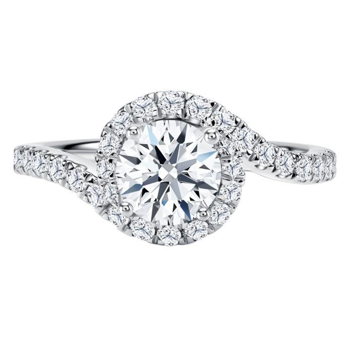 Iridescent Diamond Ring