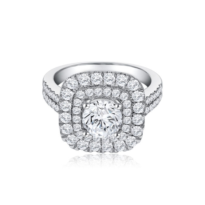 Glimmer Diamond Ring
