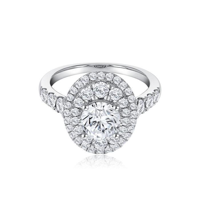 Fancy Grace Diamond Ring