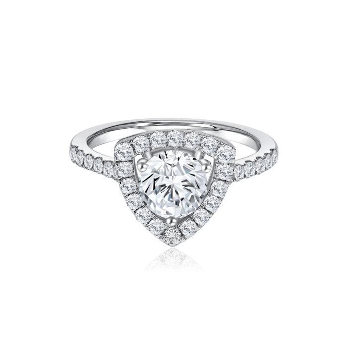 Fancy Princess Diamond Ring