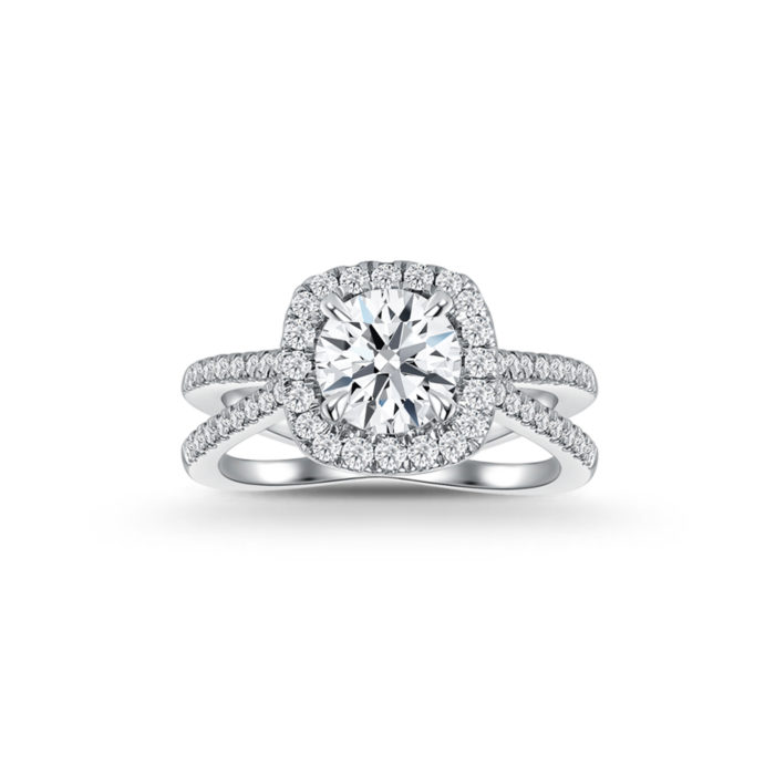 Classic Cushion Diamond Ring